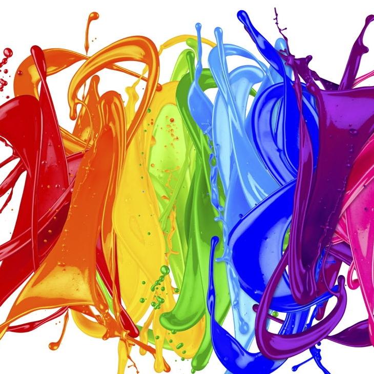 Culori, Substanțe Pictură