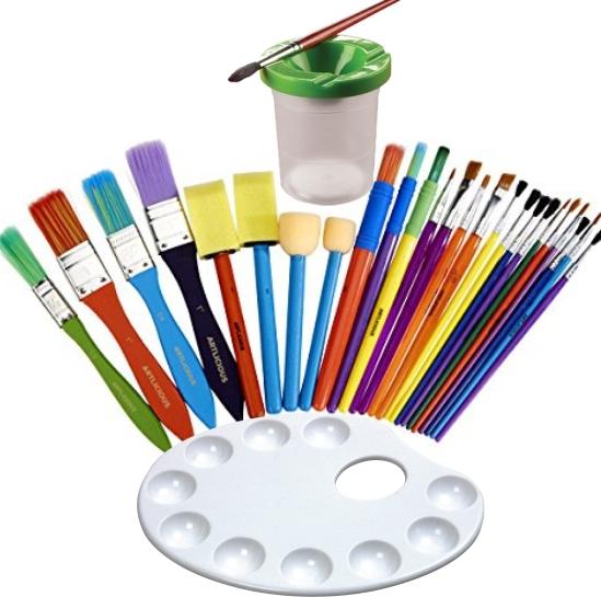 Pensule și Instrumente de Pictură