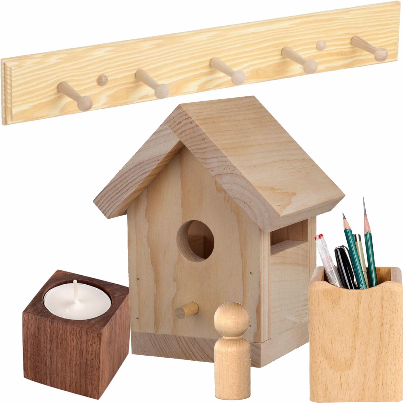 Obiecte diverse din lemn și MDF