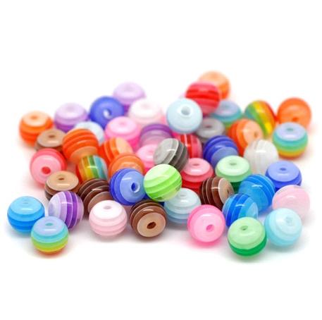Mărgele din plastic