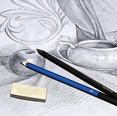 Creioane, Grafit, Cărbune
