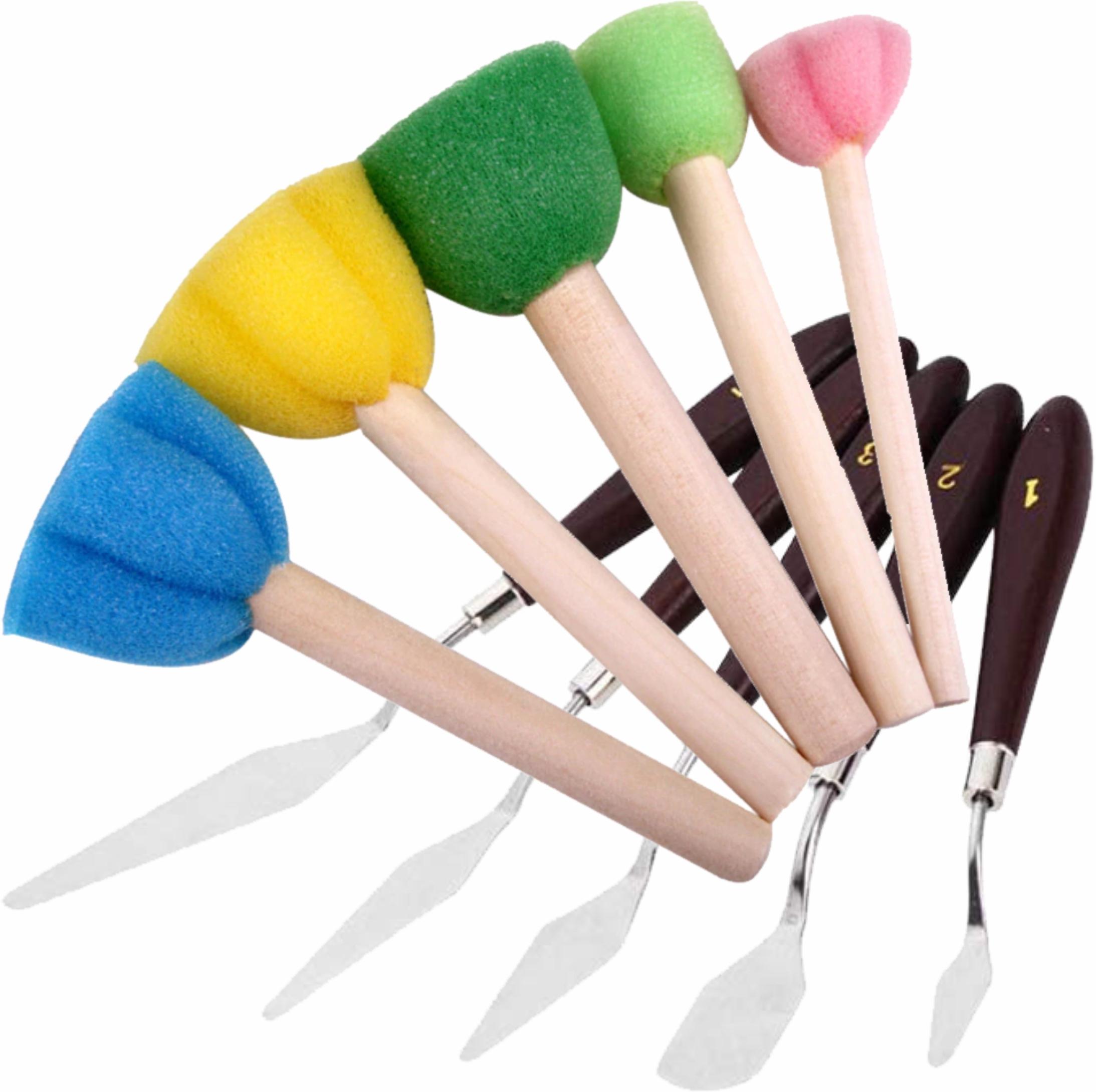 Burete și alte instrumente de pictură