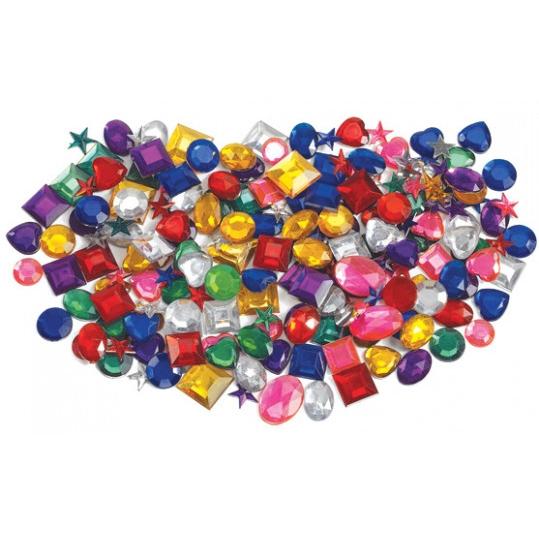 Ștrasuri, Paiete, Perle jumătăți