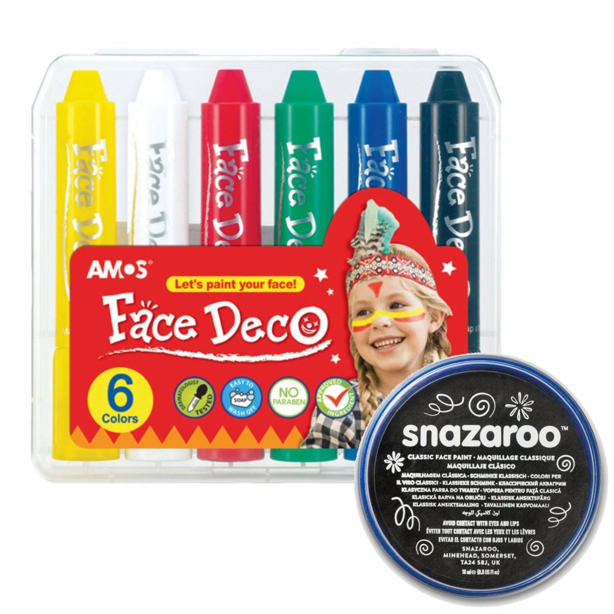 Culori pentru pictura pe față și pe corp