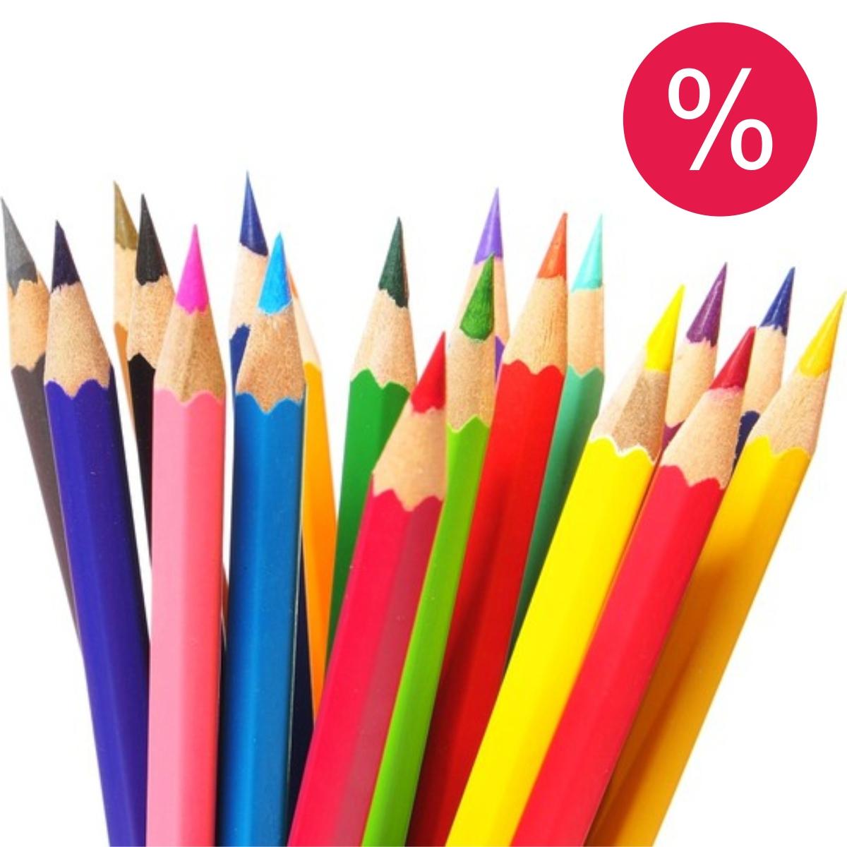 Creioane colorate şcolare